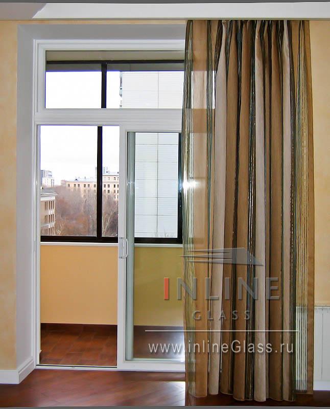 Как сделать раздвижные окна на балконе